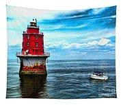 Miah Maull Shoal Lighthouse Tapestry