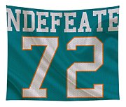 Miami Dolphins Undefeated Season Tapestry