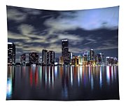 Miami Skyline Tapestry