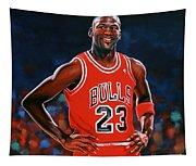 Michael Jordan Tapestry