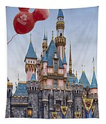 Mickey Mouse Balloon At Disneyland Tapestry