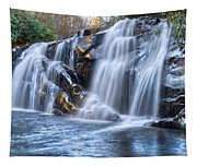 Middle Falls At Snowbird Creek Tapestry