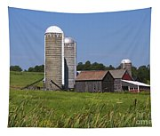 Middlebury Vermont Barn Tapestry