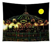 Midnight Midway Tapestry