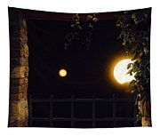 Midwest Blue Moon  Tapestry