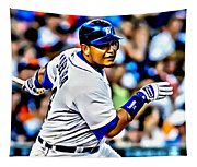 Miguel Cabrera Painting Tapestry
