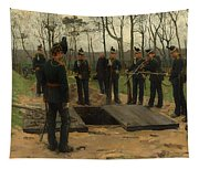 Military Funeral Tapestry