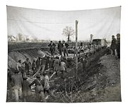 Military Railway, C1863 Tapestry