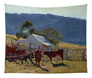 Milking Time. Araluen Valley Tapestry