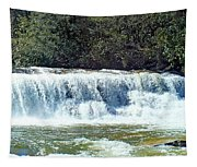 Mill Shoals Waterfall During Flood Stage Tapestry