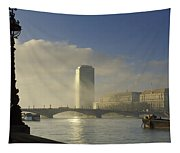 Millbank Tower During Fog, Lambeth Tapestry