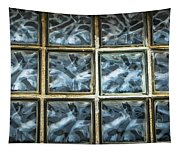 Miller Factory Window Panes Tapestry