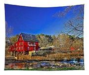 Historic Millmore Mill Shoulder Bone Creek Tapestry