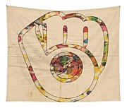 Milwaukee Brewers Artwork Tapestry
