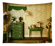 Miniature Hat Room Tapestry