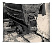 Mining Ore Cart Tapestry