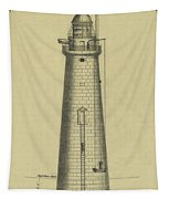 Minot's Ledge Lighthouse Tapestry