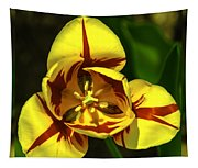 Mirrored Tulip Time Tapestry