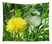 Miss Busy Butterfly Tapestry
