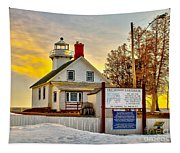 Mission Point Michigan Tapestry