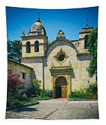 Mission San Carlos - Carmel California Tapestry