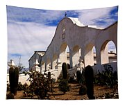 Mission San Xevier Del Bac Tapestry
