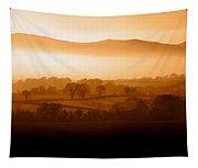 Mist Shrouded Knockmealdown Mountains Tapestry