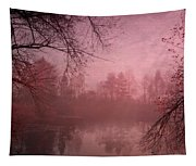 Misty Morning Light Tapestry