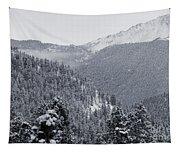 Misty Pikes Peak Tapestry
