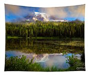 Misty Reflection Tapestry