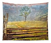 Misty Tree Tapestry