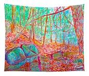 Misty Woods Tapestry