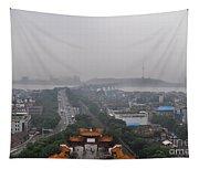 Misty Wuhan Tapestry