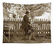 Mitchell Motorcycle Circa 1907 Tapestry