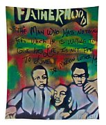 Mlk Fatherhood 1  Tapestry