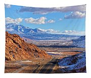 Moab Fault Medium Panorama Tapestry