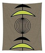Mobile 3 In Green Tapestry