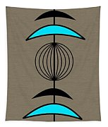 Mobile 3 In Turquoise Tapestry