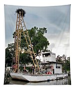 Mobile Osprey Nest Tapestry