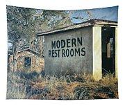 Modern Restrooms Tapestry