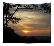 Mohawk Sunset Tapestry