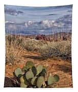 Mojave Desert Cactus Tapestry