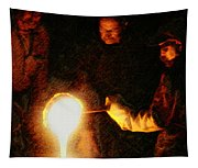 Molten Glass Tapestry