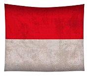 Monaco Flag Vintage Distressed Finish Tapestry