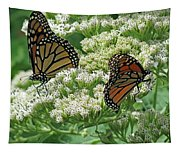 Monarch Butterfly 57 Tapestry