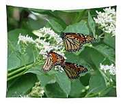 Monarch Butterfly 65 Tapestry