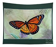 Viceroy Butterfly By George Wood Tapestry