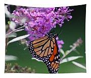 Monarch On Butterfly Bush Tapestry