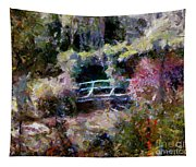 Monet's Bridge In Autumn Tapestry