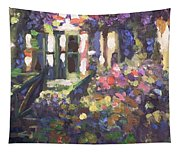 Monet's Home In Giverny Tapestry